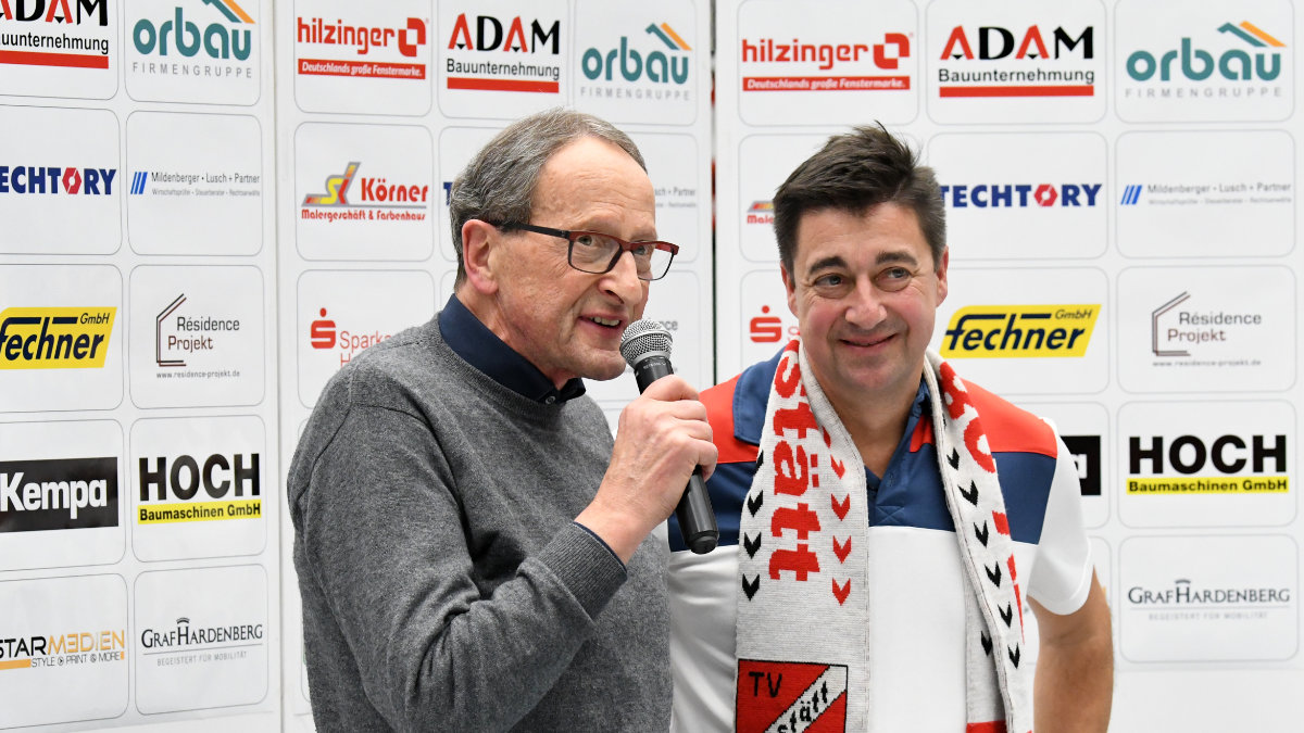 Willstätts Vorsitzender Rainer Lusch ist zuversichtlich