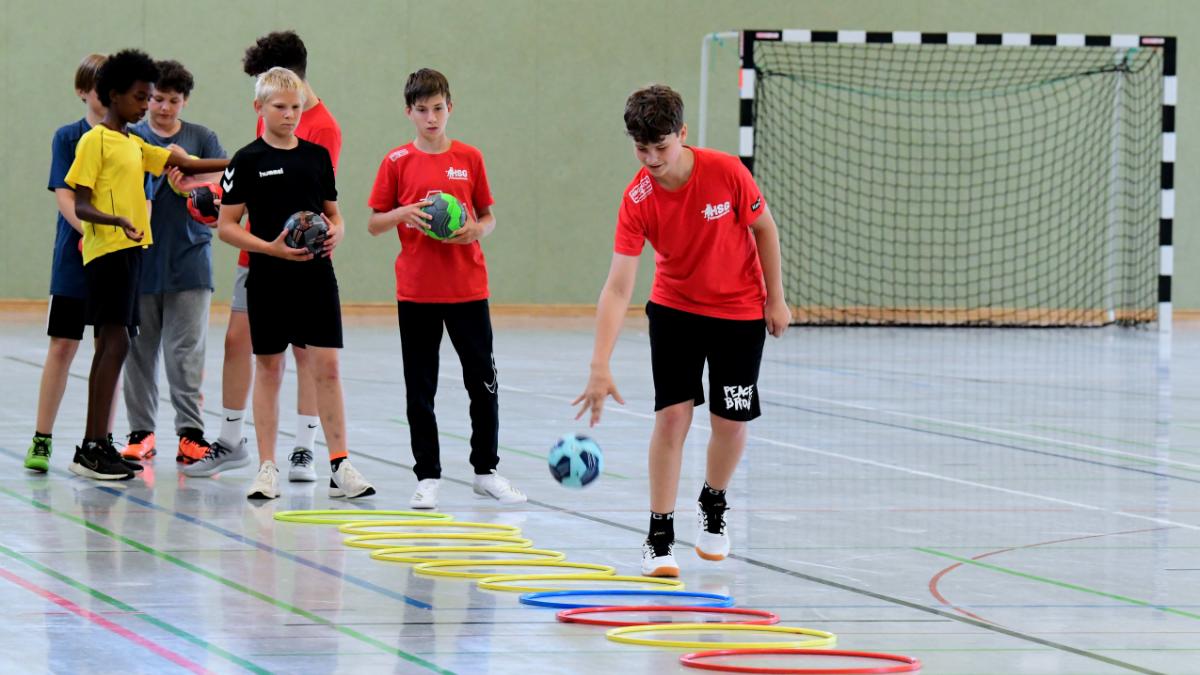 Training der HSG Hanauerland